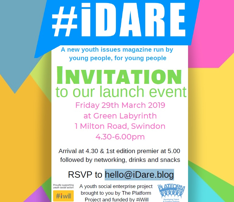 Swindon Social Enterprise Invitation to a party